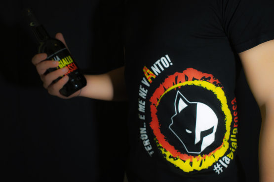 T-shirt lagiallorossa